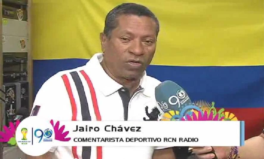 Jairo Chávez analizó el panorama colombiano en octavos