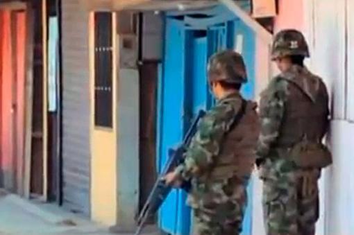 Ejército descarta soldados desaparecidos en Caldono