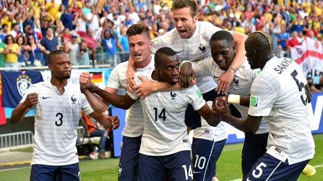 Francia muestra de que están hechos