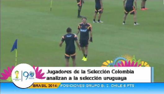 Ambiente mundialista a pocas horas de Colombia vs. Uruguay