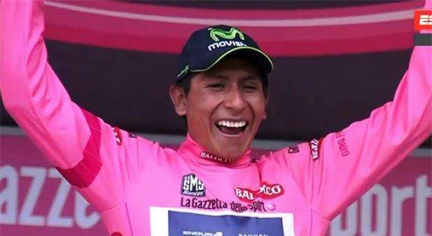 Día histórico para el ciclismo colombiano en el Giro de Italia