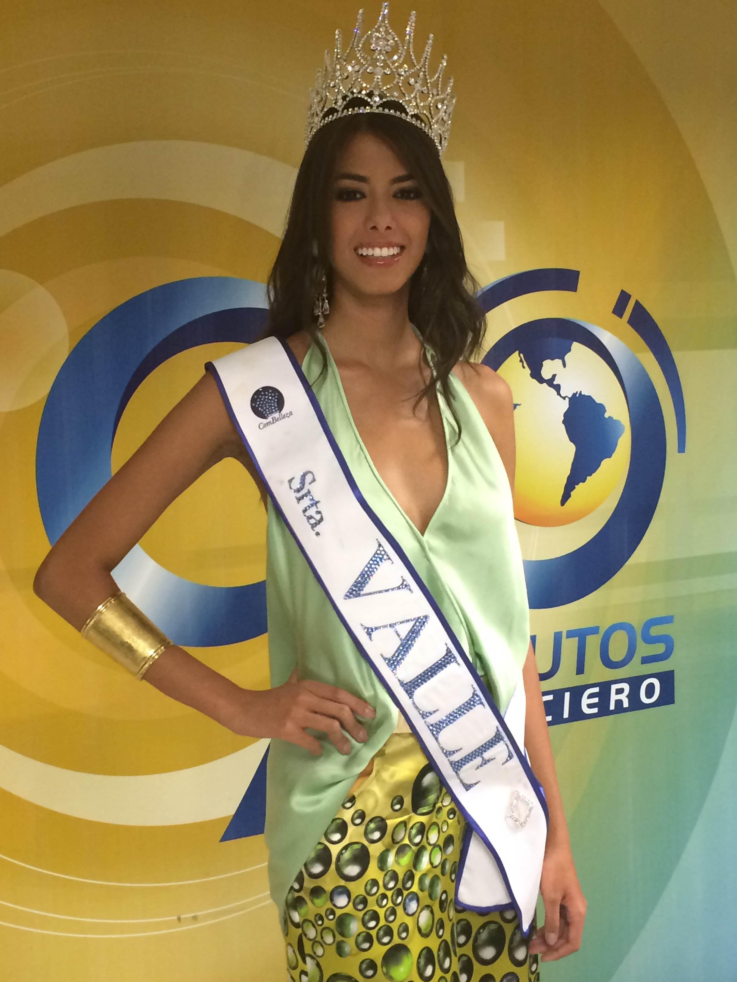 Señorita Ginebra, Nathaly Rojas, nueva representante del Valle