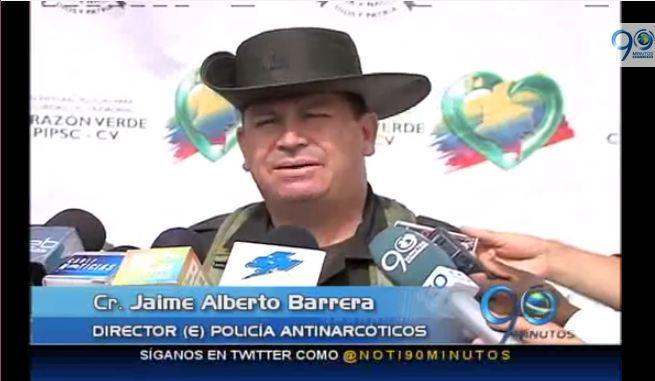 Policía desmantela banda de narcotráfico que operaba desde el Valle