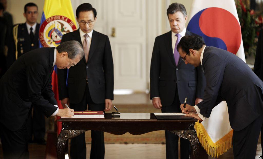 Entre Colombia y Corea no habrá TLC por el momento