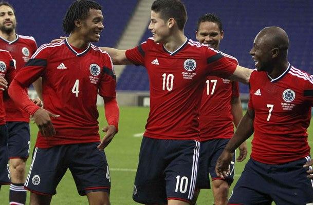 Colombia venció a Jordania en su última estación antes del Mundial