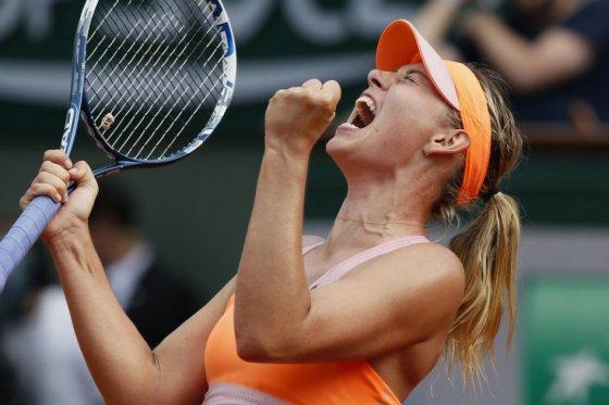 Maria Sharapova se convierte en la reina del Roland Garros