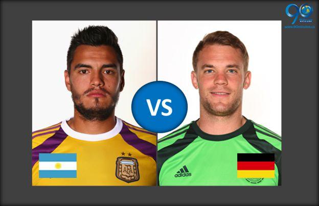 Argentina y Alemania: ¿quién tiene la valla menos vencida?