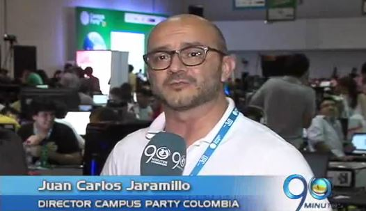 Campus Party en el Centro de Eventos Valle del Pacífico