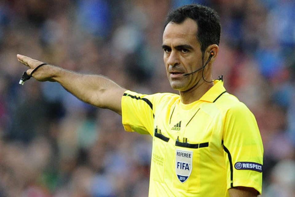 Árbitro español pitará el partido de Colombia