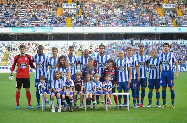 Llega a Colombia el Deportivo La Coruña para disputar amistosos