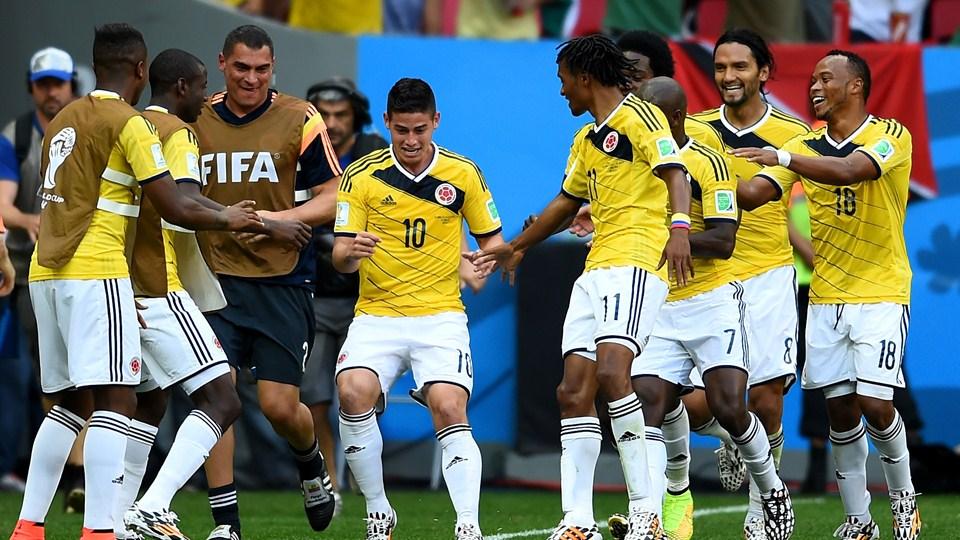 Colombia es la cuarta selección en la clasificación de la Fifa