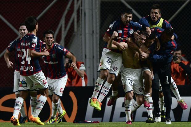 Con goleada San Lorenzo se encamina a la final de la Libertadores