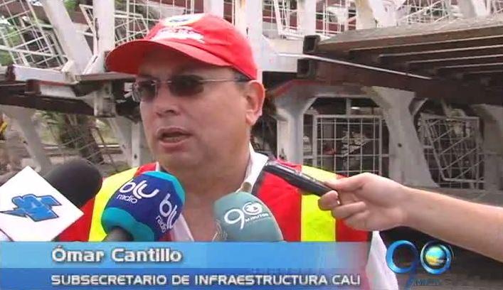 Alcaldía estudia ubicación de antiguos puentes peatonales de la Av. Colombia