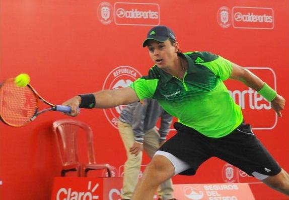 González único colombiano en avanzar a cuartos de final del Claro Open