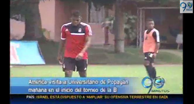 América visitará mañana a Universitario en Popayán