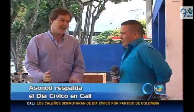 Asonod respalda declaración de Día Cívico por el partido Colombia