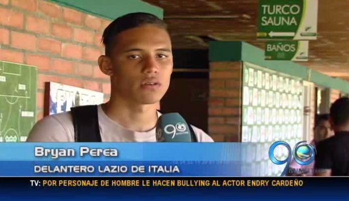 Bryan Perea prepara su regreso al Lazio de Italia