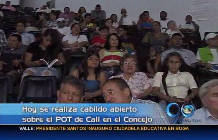 En el Concejo hubo Cabildo abierto para hablar del POT