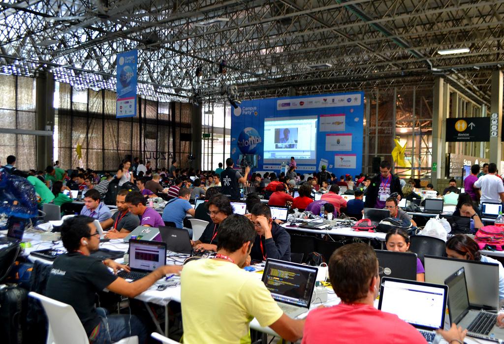 Los 'geek' colombianos se toman el Campus Party de Cali
