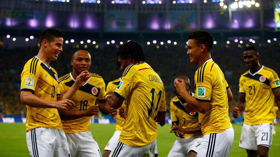 Esta sería la alineación de Colombia frente a Brasil