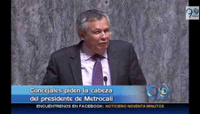 Concejales de Cali exigen renuncia del presidente de Metrocali