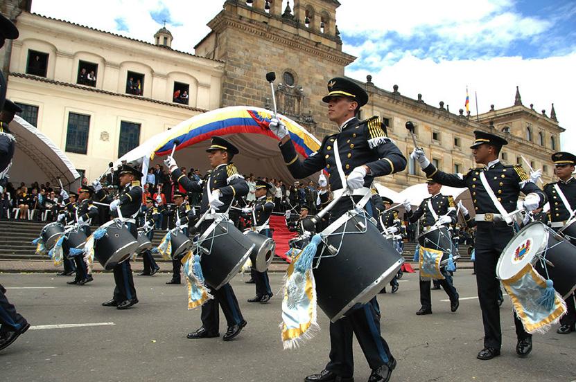Colombia conmemoró sus 204 años de independencia