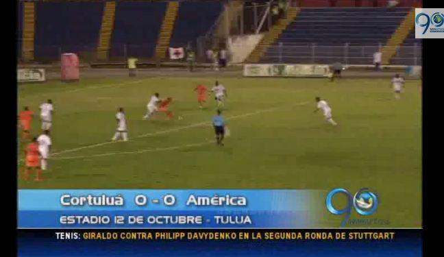 Cortuluá y América empataron en el 12 de Octubre