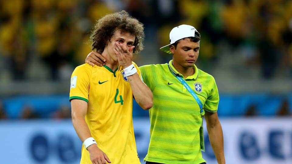 Los rostros de la peor derrota de la Selección de Brasil