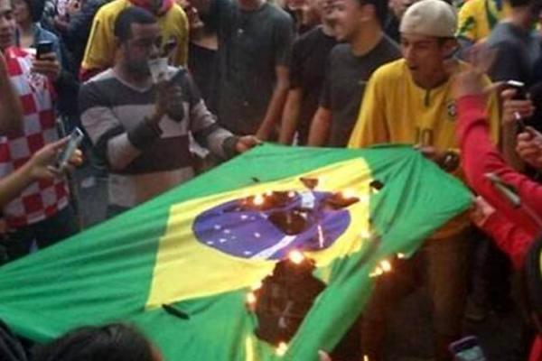 Disturbios en Brasil tras histórica derrota ante Alemania