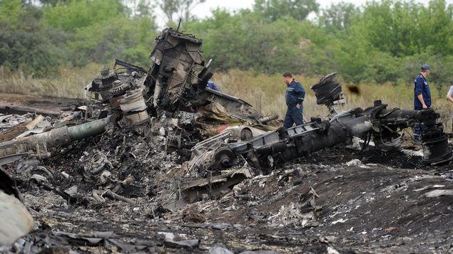 Preparan entrega de los cuerpos de las víctimas del avión Malasio derribado