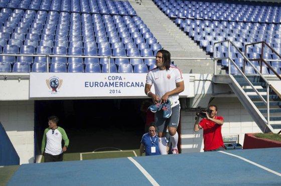 Falcao no podrá jugar ante el Junior por la Copa Euroamericana