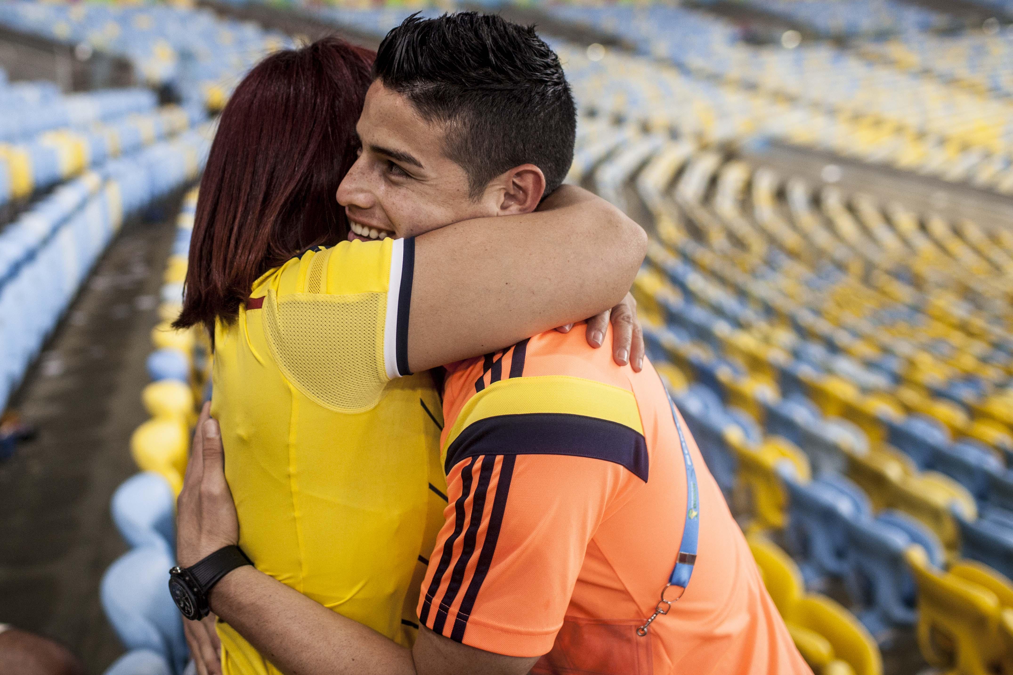 Familias de los jugadores Colombianos se quedarán en Brasil