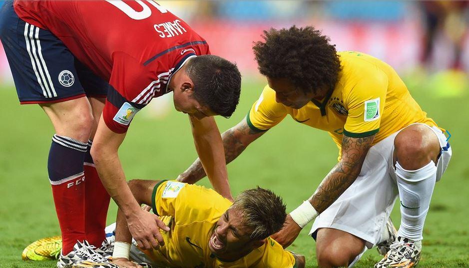 Fifa no sancionará a Zuñiga por incidente con Neymar