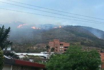 De nuevo arden los cerros de Cali