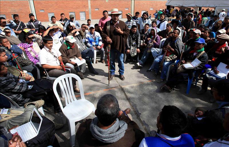 Comunidades indígenas participaran de los diálogos de paz