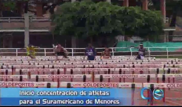 El sábado inicia en Cali el Suramericano Menores de Atletismo
