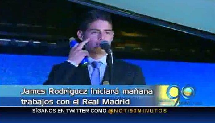 James Rodríguez lanza su propia marca de bebidas energizantes