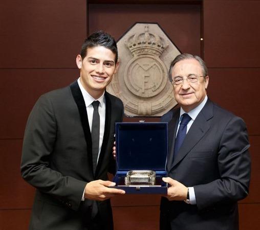 James Rodríguez es el quinto fichaje más costoso de la historia del fútbol
