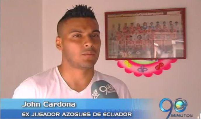Futbolista colombiano denuncia club ecuatoriano por incumplir en el pago