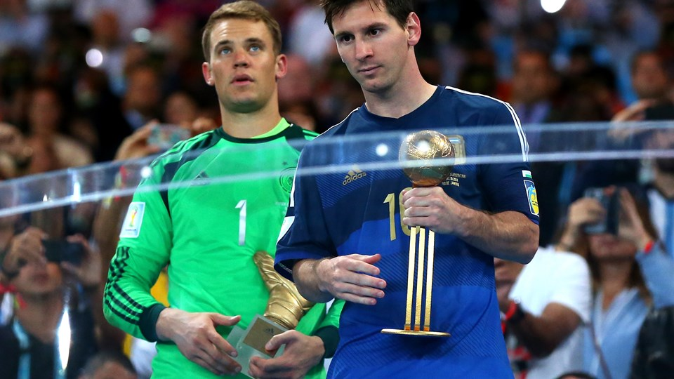Messi es reconocido como el mejor jugador el Mundial