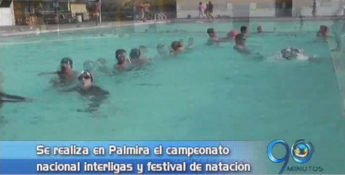 Hoy inicia en Palmira el Nacional Interligas de Natación