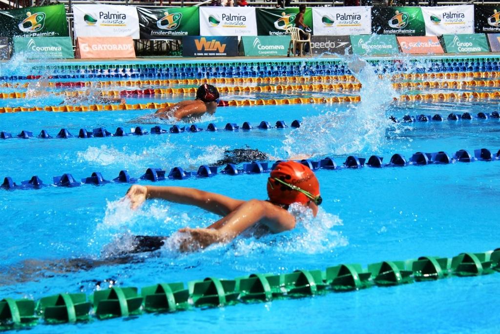 Continúa el Campeonato Nacional Juvenil de Natación en Palmira