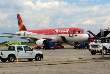 Avianca dice que en avión no se derramó ningún líquido radiactivo