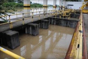 Planta de tratamiento de agua Río Cauca fuera de servicio