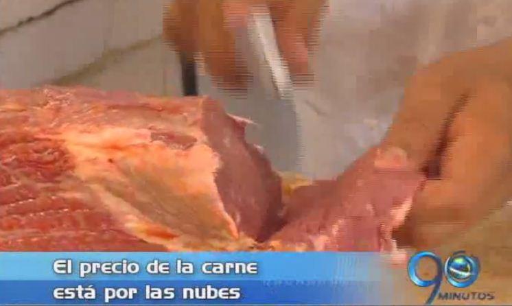 Subió el precio de la carne como consecuencia del fuerte verano