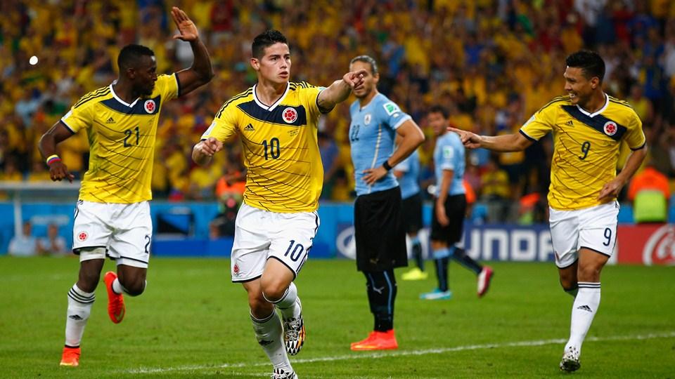 Colombia espera hacer historia ante Brasil