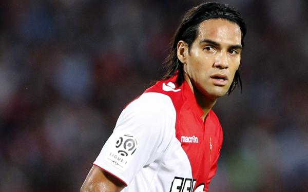 Falcao llegó con el AS Mónaco a Barranquilla por Copa Euroamericana
