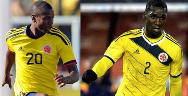 Adrián Ramos y Cristian Zapata fueron homenajeados en Villa Rica
