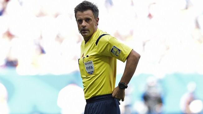 El italiano Nicola Rizzoli será el árbitro de la final