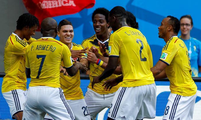 La Selección Colombia baila al ritmo de la Salsa Choke